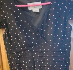 🍓2 FOR $25🍓Pretty pink polka dot dress